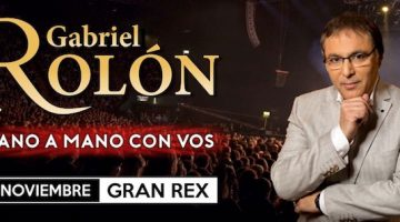 Gabriel Rolón en el Gran Rex 2018
