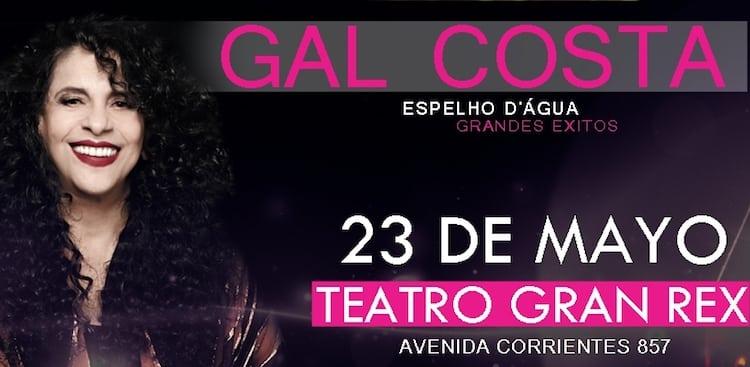 Gal Costa en Argentina 2017: Precios y entradas en venta