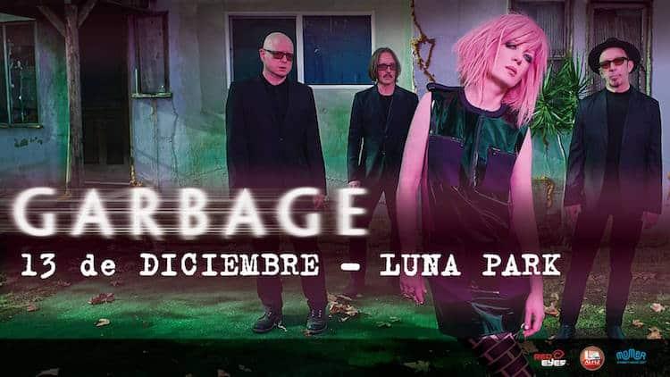 Garbage en Argentina 2016 (Luna Park): Precios y entradas en venta