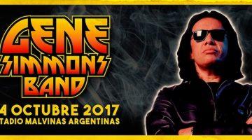 Gene Simmons en Argentina 2017