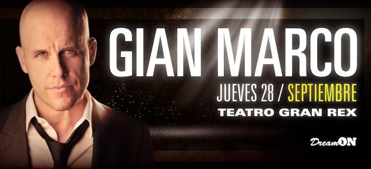Gian Marco en Argentina 2017: Precios y entradas en venta