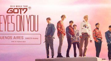 GOT7 en Argentina 2018: DirecTV Arena