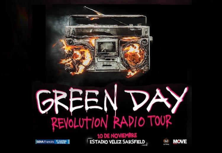 Green Day en Argentina 2017: Precios y entradas en venta