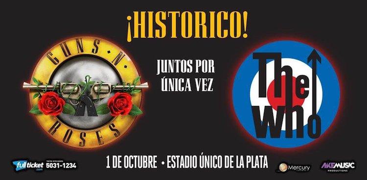 Guns N' Roses en Argentina 2017: Precios y entradas en venta