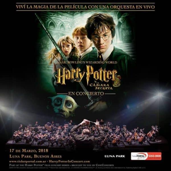 Harry Potter in concert en Argentina 2018: Precios y entradas en venta