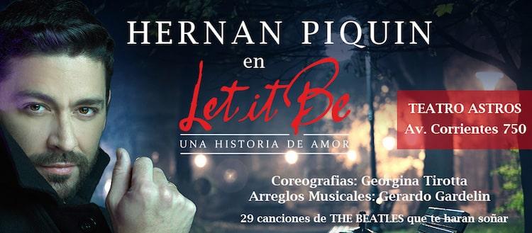 Hernan Piquin en el Teatro Astros 2016: Precios y entradas en venta