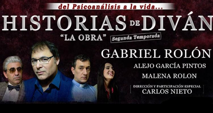Historias de Divan en el Teatro La Comedia (con Gabriel Rolón): Precios y entradas