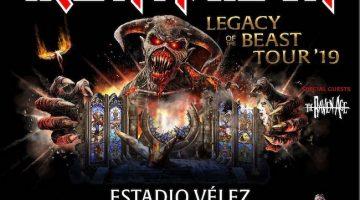 Iron Maiden en Argentina 2019 (Velez): Precios, horarios y entradas en venta