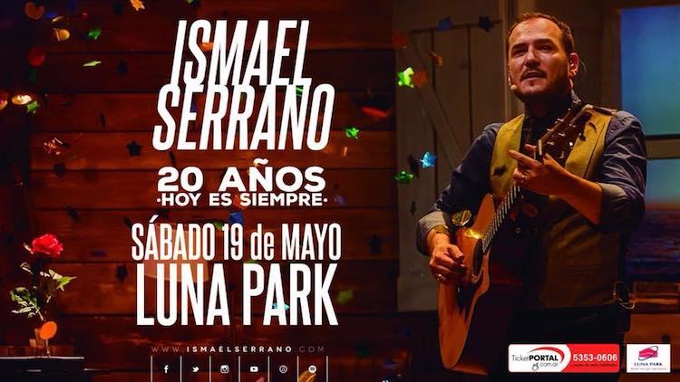 Ismael Serrano en el Luna Park 2018: Precios y entradas en venta