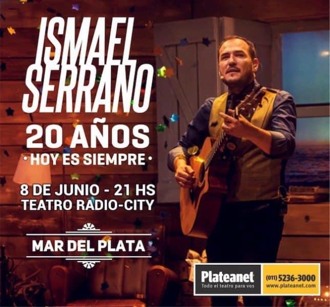 Ismael Serrano en Mar del Plata 2018: Precios y entradas en venta