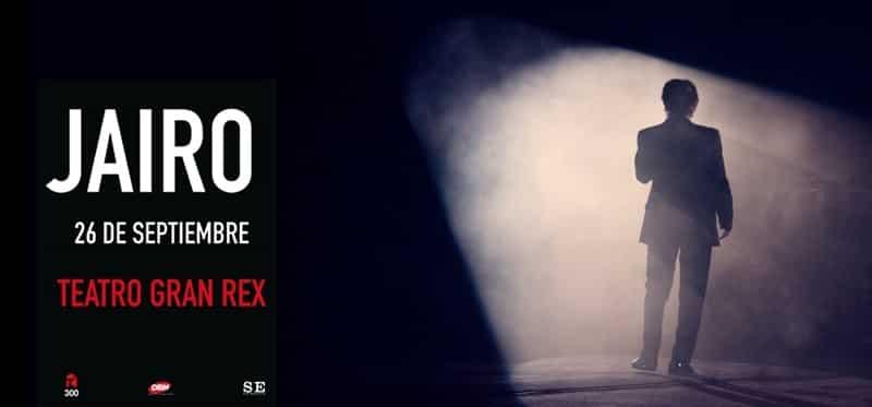 Jairo en el Gran Rex 2015: Precios y entradas en venta