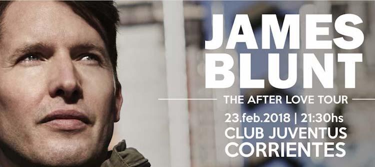 James Blunt en Corrientes 2018: Precios y entradas en venta