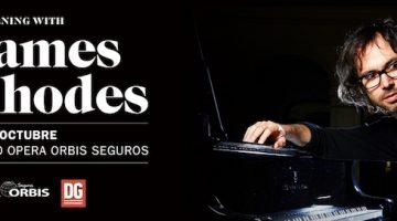 James Rhodes en Argentina 2018