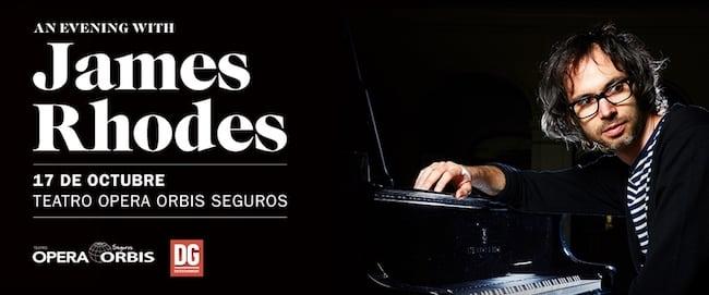James Rhodes en Argentina 2018: Precios y entradas en venta