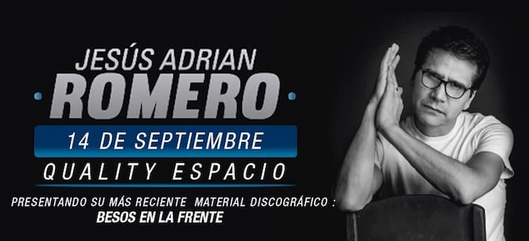 Jesús Adrian Romero en Córdoba 2016: Precios y entradas en venta