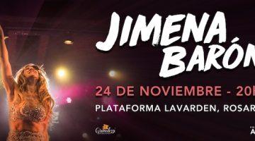 Jimena Barón en Rosario