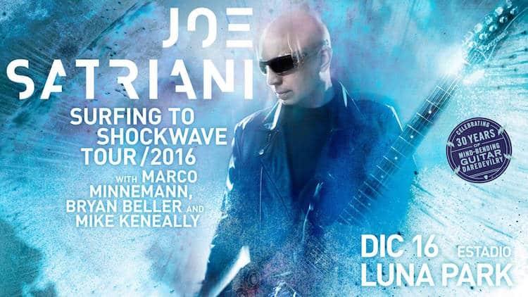 Joe Satriani en Argentina 2016 (Luna Park): Precios y entradas en venta