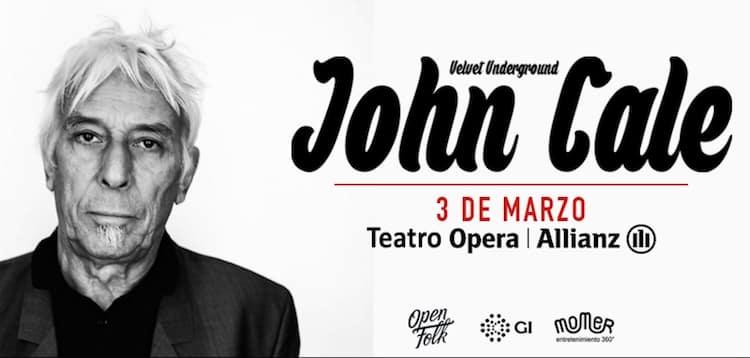 John Cale en Argentina 2016: Precios y entradas en venta