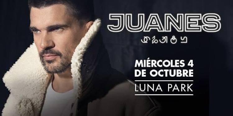 Juanes en Argentina 2017: Precios y entradas en venta
