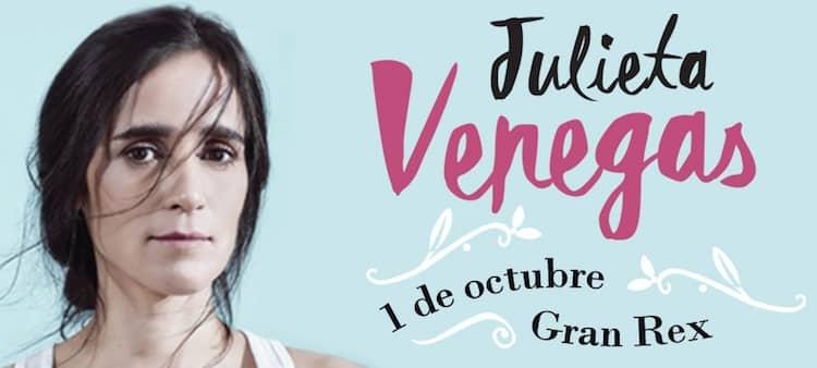 Julieta Venegas en Argentina 2016: Precios y entradas en venta