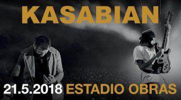 Kasabian en Argentina 2018: Estadio Obras