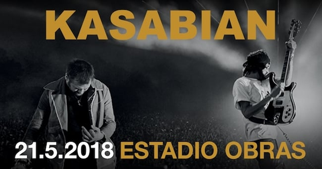 Kasabian en Argentina 2018: Precios y entradas en venta