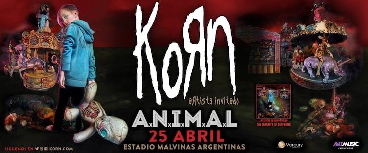 Korn en Argentina 2017: Precios y entradas en venta
