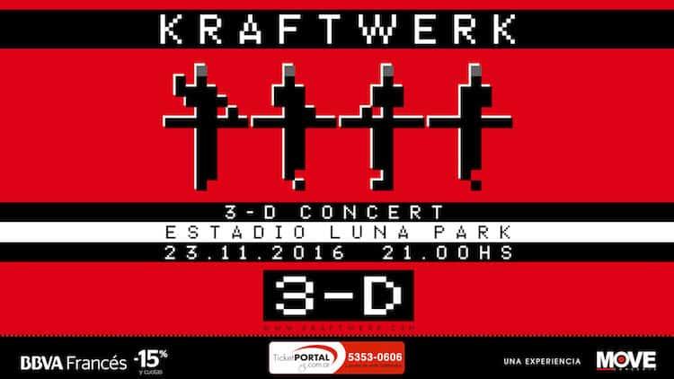 Kraftwerk en Argentina 2016 (Luna Park): Precios y entradas en venta