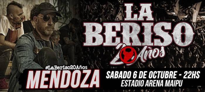 La Beriso en Mendoza 2018: Precios y entradas en venta