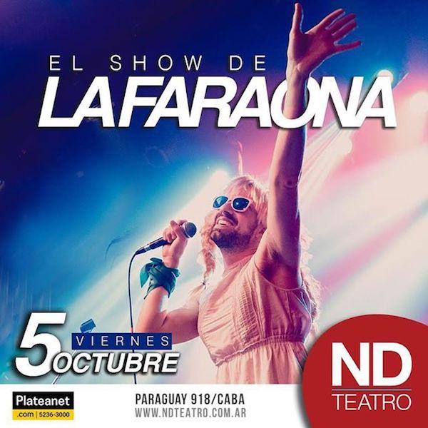 La Faraona en Buenos Aires: Fechas, horarios, shows y venta de entradas