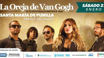 La Oreja de Van Gogh en Córdoba 2018