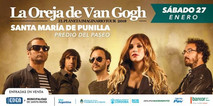 La oreja de Van Gogh en Córdoba 2018: Precios y entradas en venta