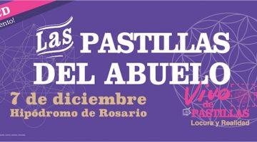 Las Pastillas del Abuelo en Rosario 2017: Hipódromo