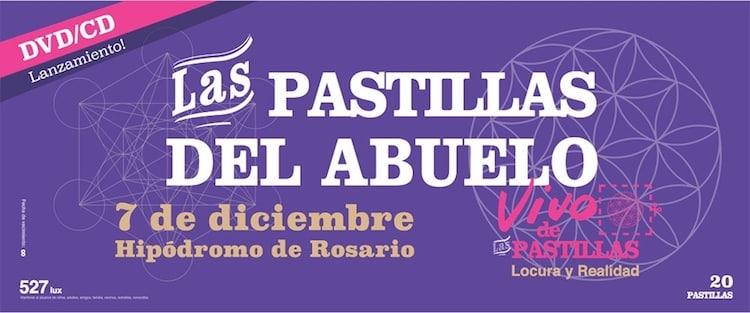 Las Pastillas del Abuelo en Rosario 2017: Precios y entradas en venta