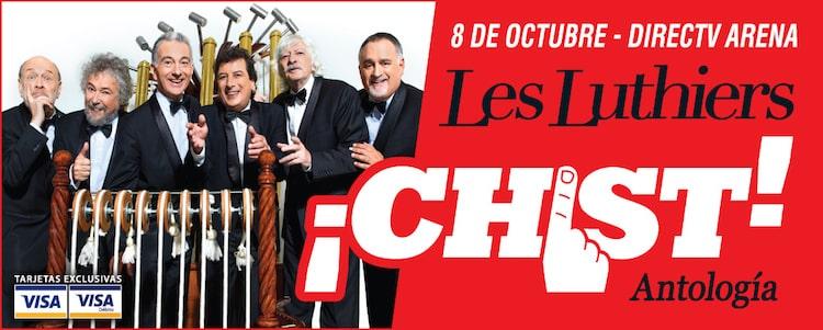 Les Luthiers en el DirecTV Arena 2016: Precios y entradas en venta