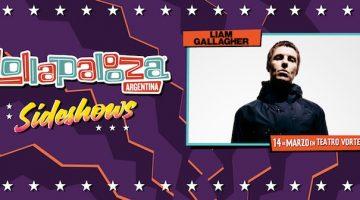 Liam Gallagher en Argentina 2018