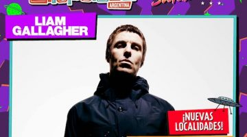 Liam Gallagher en Argentina 2018