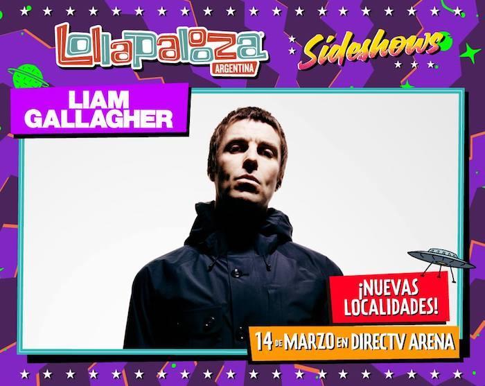 Liam Gallagher en Argentina 2018: Precios y entradas en venta