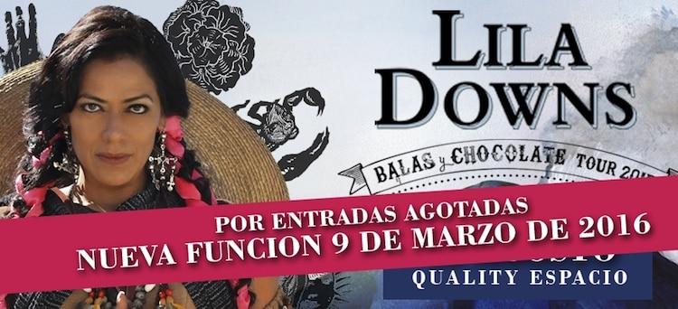 Lila Downs en Cordoba 2016: Precios y entradas en venta