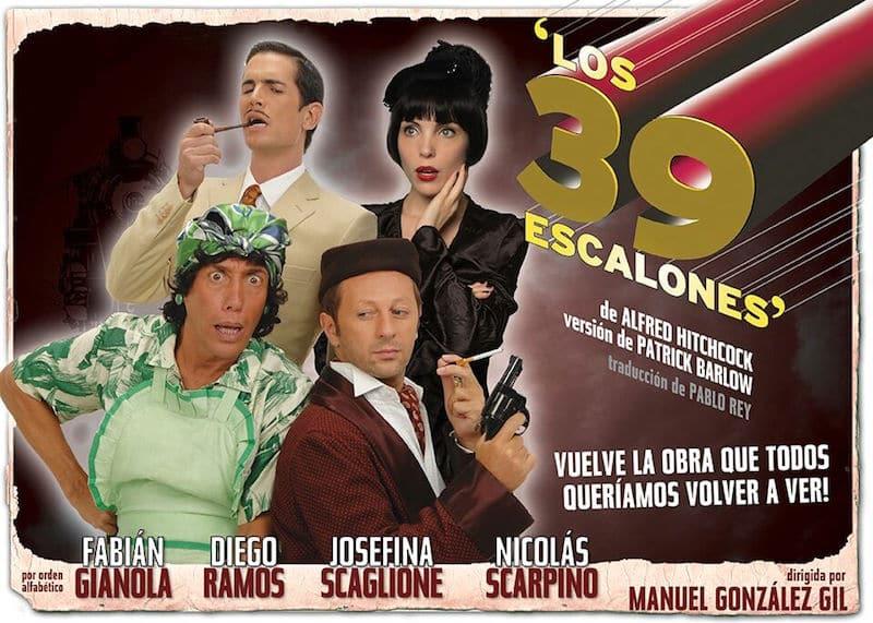 Los 39 escalones en el Teatro Picadilly 2015: Precios y entradas en venta
