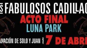 Los Fabulosos Cadillacs en el Luna Park 2018