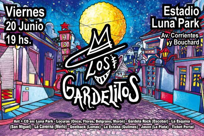 Los Gardelitos en el Luna Park 2014: Precios y entradas en venta
