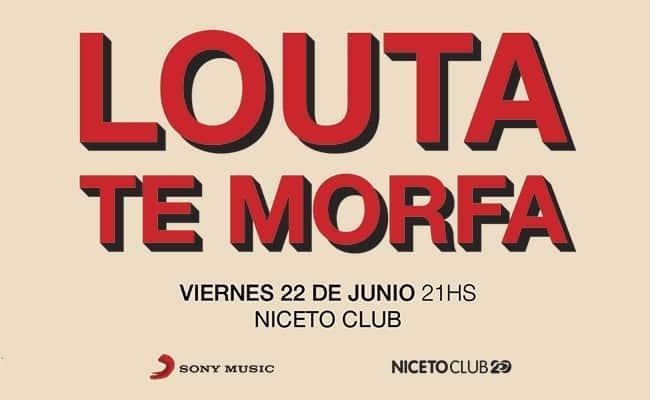 Louta en Niceto Club 2018: Precios y entradas en venta