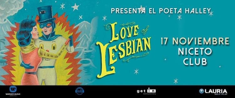Love of Lesbian en Argentina 2016: precios y entradas en venta