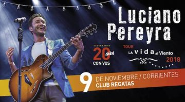 Luciano Pereyra en Corrientes 2018