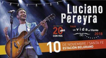 Luciano Pereyra en Santa Fe 2018