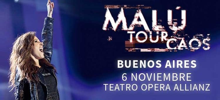 Malú en Argentina 2016: Precios y entradas en venta