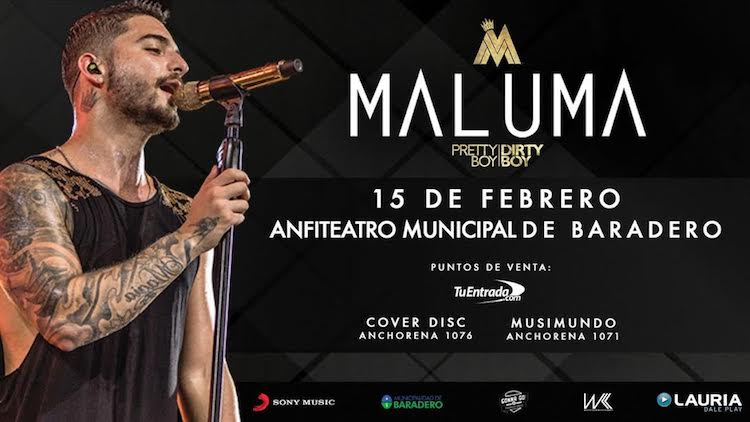 Maluma Tour Dates 2019 , Maluma Concert Tickets 2019 ...