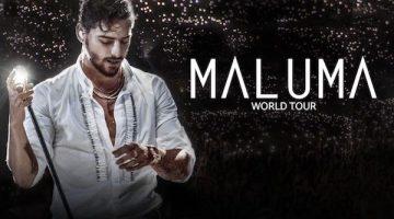 Maluma en San Juan 2017: Estadio Parque de Mayo