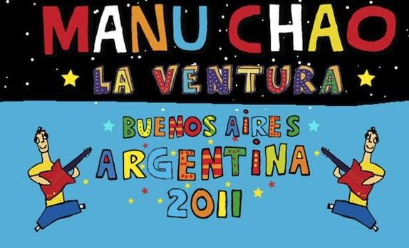 Manu Chao en el Malvinas Argentinas (con La Ventura)